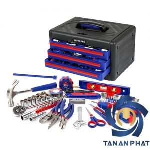 Bộ dụng cụ 125 chi tiết WORKPRO W009022