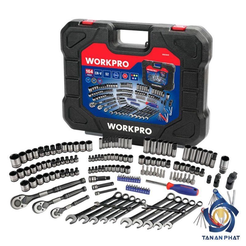Bộ dụng cụ cơ khí 164 chi tiết WORKPRO W003049
