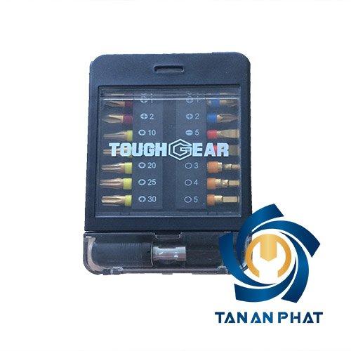Bộ đầu vít 15 chi tiết TOUGHGEAR TGB0015D