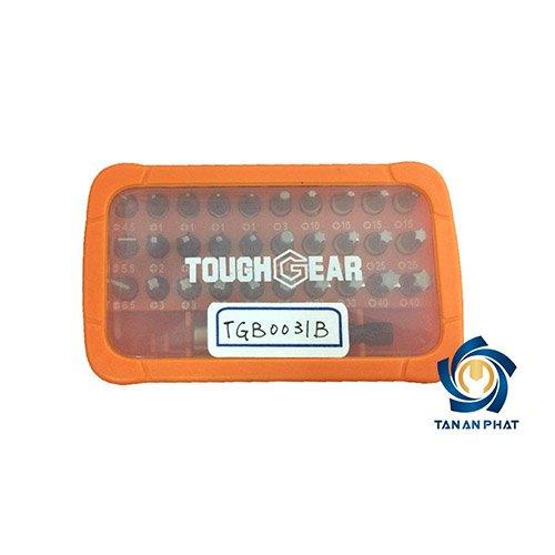Bộ đầu vít 31 chi tiết TOUGHGEAR TGB0031B