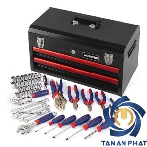 Bộ dụng cụ 76 chi tiết WORKPRO W009031