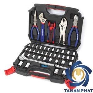 Bộ dụng cụ và tuýp 52 chi tiết WORKPRO W003020