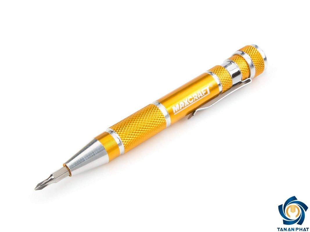 Bút tuốc nơ vít chính xác Maxcraft 60609 màu vàng sanh chảnh