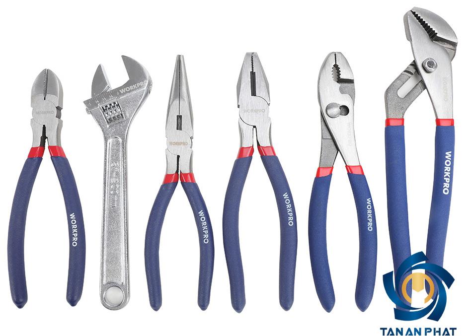 Bộ dụng cụ 6 chi tiết WORKPRO W001314