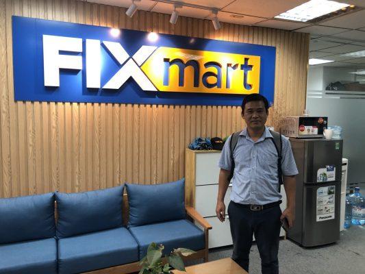 chuyến đi ghé thăm đại lý phân phối Fixmart